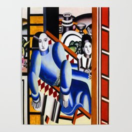 Fernand Leger Mother and Child Poster