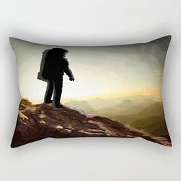 Astronauta Rectangular Pillow