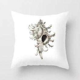 Shell 01 Throw Pillow