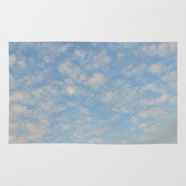 Blue Sky Photograph Rug