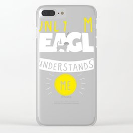 Beagle Design Only My Beagle Understands Me Clear iPhone Case