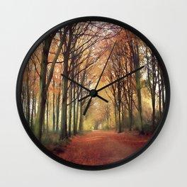 Delicious Autumn... Wall Clock