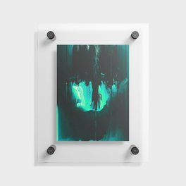 Day 56: ŧħɇ ħȺnđ ŧħȺŧ fɇɇđs Floating Acrylic Print