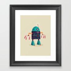 :::Mini Robot-Arpax::: Framed Art Print