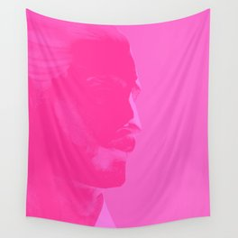 L'homme - bubblegum Wall Tapestry