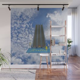 In Heaven - Au Ciel Wall Mural