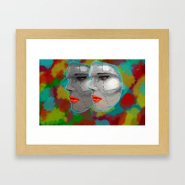 Miss BIOS Framed Art Print