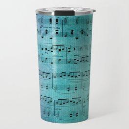 Painted Music Travel Mug