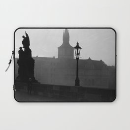 Foggy Morning in Prague Laptop Sleeve