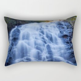 Crabtree Falls at Golden Hour Rectangular Pillow