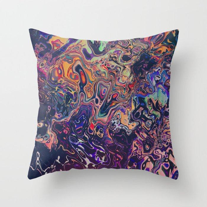 AURADESCENT Throw Pillow