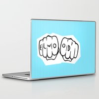 blues brothers Laptop & iPad Skins featuring [ Blues Brothers ] Elwood Blues Dan Aykroyd by Vyles