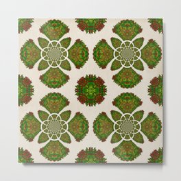 Jungle kaleidoscope Metal Print