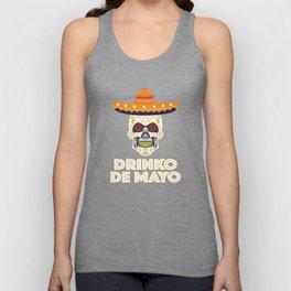 Cinco De Mayo Drinko De Mayo 5 May Skull Unisex Tank Top