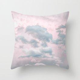 Beautiful Clouds Throw Pillow