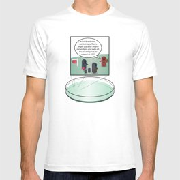 Bacteria family looking for home T-shirt