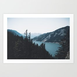Columbia River Gorge V Art Print
