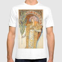 Art Nouveau poster by Alphonse Mucha T-shirt
