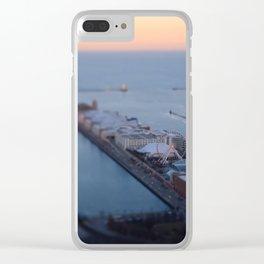 Navy Pier Dusk Clear iPhone Case