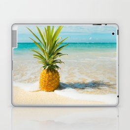 Pineapple Beach Laptop & iPad Skin