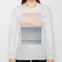 Minimalist Sunset Long Sleeve T-shirt