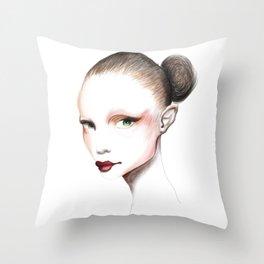 Love Girls - Ballet Throw Pillow