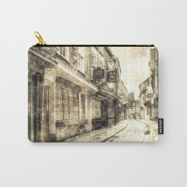 The Shambles York Vintage Carry-All Pouch