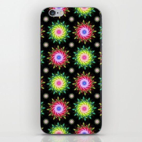 FLOWER PATTERN iPhone & iPod Skin