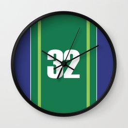German Legend Wall Clock