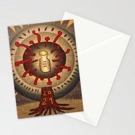 2021 Panacea New Year Tree Stationery Cards