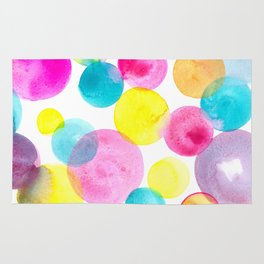 Confetti paint Rug