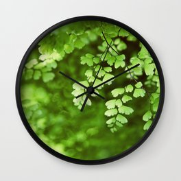 maidenhair Wall Clock