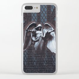 Guardian Angel Clear iPhone Case