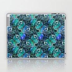 Butterflies In Blue Laptop & iPad Skin