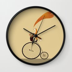 I want to ride my unicycle Wall Clock