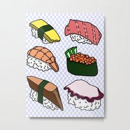Sushi! Metal Print