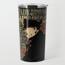 Winston Churchill Pop Art Quote Travel Mug