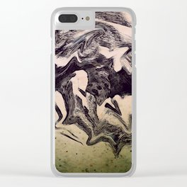Meeting the Monsters Clear iPhone Case