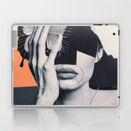collage art / butterfly Laptop & iPad Skin