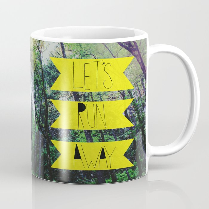 Let's Run Away: Forest Park Coffee Mug