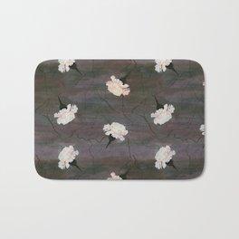Parchment and Flowers Bath Mat