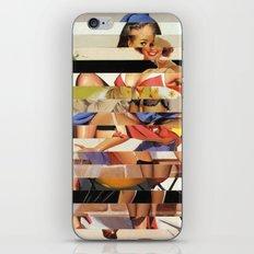 Glitch Pin-Up Redux: Gwen iPhone & iPod Skin