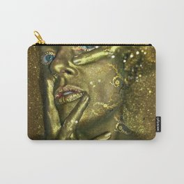 Bath in Gold Carry-All Pouch