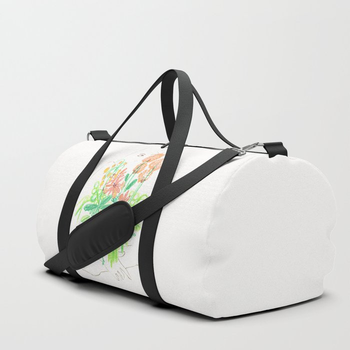 Flower flower Duffle Bag