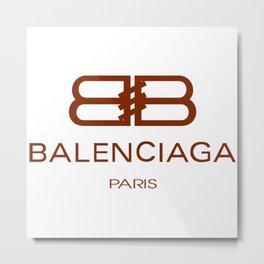 Balenciaga Metal Print