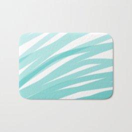 Bahama Blue Line Art, Variable Opacity Color Study – 4 Bath Mat