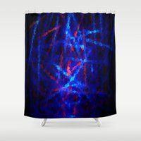 northern lights Shower Curtains featuring Northern Lights by Cs025