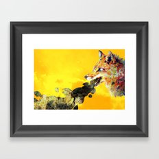 has nature ever spat you out? Framed Art Print
