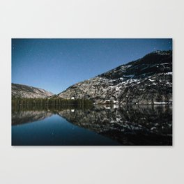 Merced Lake Night Canvas Print
