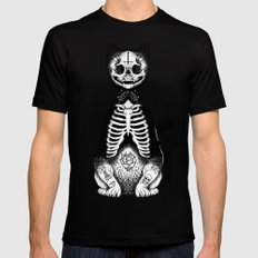 Skulls & Daggers X-LARGE Black Mens Fitted Tee